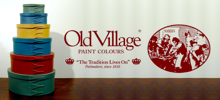 OldVillage PAINTCOLOURS オールドヴィレッジペイントカラー